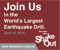 The Great Utah ShakeOut 2019